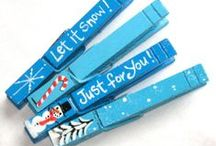 ✰Blue & White Christmas / ★☆★☆ All pins reflect a blue & white Christmas Theme ★☆★☆ #christmas #winter