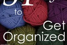 Organized Knitting & Crochet / If you need help getting your knitting and crochet life organized, follow 31 days of organizing tips and ideas from WEBS - America's Yarn Store. Don't forget to check out the comments too for even more tips from other knitters and crocheters.