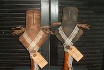 Primitive dolls / by Tracy Noble