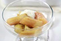 Rabarbar / Przepisy na dania i desery z rabarbarem. http://pozytywnakuchnia.pl/pomysl-na/rabarbar/