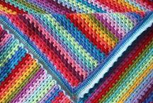 Blankets & Afghans / Blankets and afghans are so much fun to knit and crochet. A handmade blanket is a great gift for a baby, newlyweds, or for a housewarming. Get a little inspiration for your next afghan project. / by WEBS America's Yarn Store
