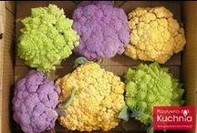Kalafior / Przepisy na dania, w których składzie główną rolę odgrywa kalafior.  http://pozytywnakuchnia.pl/pomysl-na/kalafior/