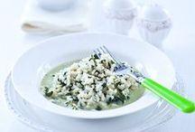 Szpinak / Przepisy na dania ze szpinaku. Pomysły na szpinak na obiad lub kolację. http://pozytywnakuchnia.pl/pomysl-na/szpinak/