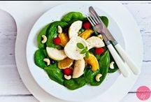 Sałatki i surówki / Przepisy na sałatki i surówki do obiadu.  http://pozytywnakuchnia.pl/kuchnia/przepisy/czesc-posilku/salatki/ http://pozytywnakuchnia.pl/kuchnia/przepisy/czesc-posilku/surowki/