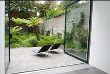 garden / Contemporary garden design.