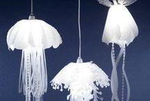 DIY - lustry, svícny, dekorace na stůl ... / Creative - chandeliers , sconces , table decoration ... lustry, svícny, dekorace na stůl ...
