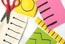 Preschool Activities and Crafts / Creative Preschool Learning Themes #CreativePreschoolers - activities for preschoolers, preschool crafts / by Amanda @artsy_momma