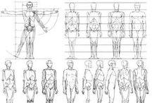 Kresba - lidské tělo