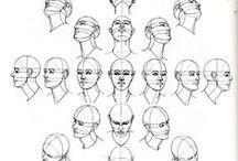 Kresba - lidská hlava
