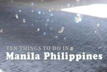 Philippines - Ideas / We will be in this part of the world and may have a bit of time to stop in the Philippines. These are some of the things we might want to see and do!
