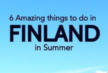Finland - Ideas / We currently do not have plans to visit Finland but would love to in the future. This is a list of things to see and do.
