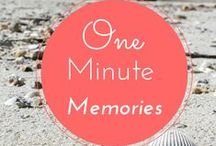 One Minute Memories / Sometimes words just don't do justice to the places we've visit. This collection of video -- mostly quiet and serene -- will give you a glimpse of the natural sights and sounds captured on The Opportunistic Travelers journeys.