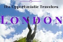 London, England - Ideas / by The Opportunistic Travelers