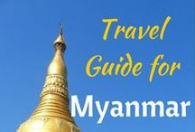Myanmar - Ideas / by The Opportunistic Travelers