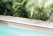 summer / Stylish swimming pools and dreamy summer destinations.