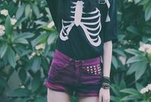 Edgy Chameleon Style / Styles I personally love & wear/would wear that usually revolve around rock, neon goth, or just edginess altogether.  I also pin some things that I would feel comfortable wearing for special occasions.