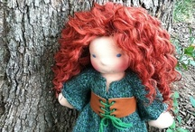 Waldorf Doll / Inspiration and tutorials for making Waldorf/Steiner style dolls / by Frieda
