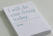a little wishlist | Must Do / there are things on the list that could do with some doing / by Dorette