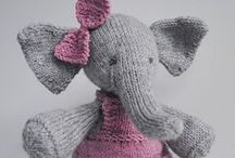 Knitted & Crocheted toys  / by Diana Kn