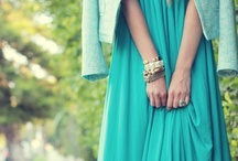 Turquoise and Blues / by Diana Kn
