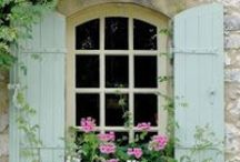 Old and beautiful windows and doors inspirations.