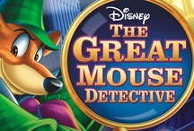 1986 / The Great Mouse Detective is a 1986 animated mystery film produced by Walt Disney Feature Animation. The 26th animated feature in the official canon, the main characters are all mice and rats living in Victorian London. Based on the children's book series Basil of Baker Street by Eve Titus, it draws heavily on the tradition of Sherlock Holmes with a heroic mouse who consciously emulates the detective.