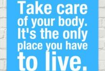 """Prevention / """"Take care of your body. It's the only place you have to live."""" ~Jim Rohn. Inflammation, Prevention, Longevity! / by Lou Ann Donovan Live-Young"""