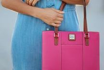 Pretty in Pink / We wear Pink! Handbags and styles inspired by the color Pink!