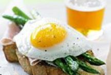 """Breakfast / """"All happiness depends on a leisurely breakfast."""""""