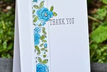 Punches and dies / Card ideas using Stampin' Up punches and dies