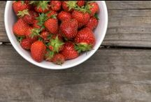 Food: Red / Healthy recipes that feature red whole foods. Eat a healthy diet from all the colors of the rainbow. / by Lou Ann Donovan Live-Young