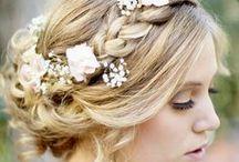 Peinados para novias e invitadas de boda / Peinados para novias e invitadas de boda