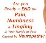 Diabetic Neuropathy Information / High blood sugar levels can damage the nerves that control sensation in the body. When Diabetes damages the nerves, it is called diabetic neuropathy(new-ROP-uh-thee).