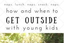 Getting Kids Outside / Articles and books on the importance of getting your children outdoors.