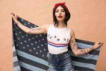 All American Dollz / Hi, Mizz American Pie! Shop Graphic Tees, Classic Denim, and New Wildfox!