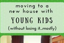 Moving House with Young Kids / Tips and advice for moving to a new home when you have young kids running around!