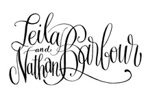 lettered by hand / by Emily Ley