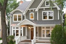 Home Exteriors / Dream home exteriors: design styles, and ideas on how to improve your curb appeal.
