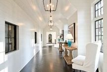 Hallways / Design and Decorating Ideas for your Hallways!