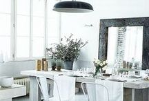 Dining Rooms / Find inspiration to decorate, update, or makeover your dining room! Beautiful, modern, dining rooms.
