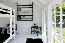 Cabin / Cabin floor plans, and designer tips for decorating small spaces on a budget.