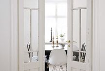 Moldings and Doors / Molding Inspiration for your Doorways. Interior/Exterior Doors. All styles such as Rustic, Wood Barn Door, Sliding, Pocket, French Doors and Small Double Doors.  Many inspiring looks and ideas!