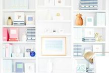 Home / Creating a decluttered, meaningful home with a classic feel. Full of white space with pops of color. A place of comfort and joy.