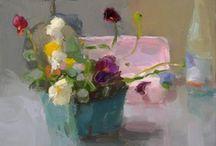 flower art / flowers, still lives, the occasional fruit
