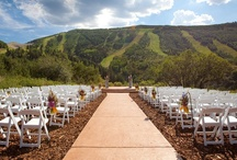 Weddings at PCMR / Plan your Utah wedding at Park City Mountain Resort in beautiful Park City, Utah.  / by Park City