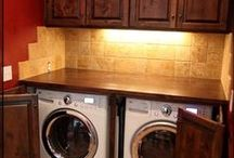 Holy Laundry Rooms, Batman! / Laundry Area Ideas for the Home / by Tonya McCray