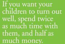 For Our Family's Future / Money & Finances, Emergencies, Etc.