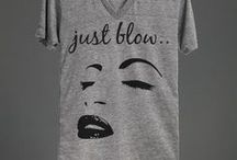 I Love T-Shirts and Sweaters / I love t-shirts and sweaters with witty sayings. They get me every time.  Shop my collection here: http://skreened.com/pearlsandpeacocks