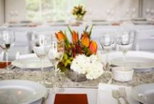 may wedding. global+local Orange / globetrotting couple, clear portland orange and cream, in Spring!