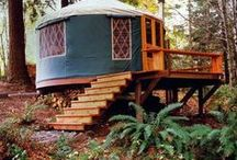 Yurt Vision / Yurts are the domicile of the future. Inspiration here. / by Tonya McCray
